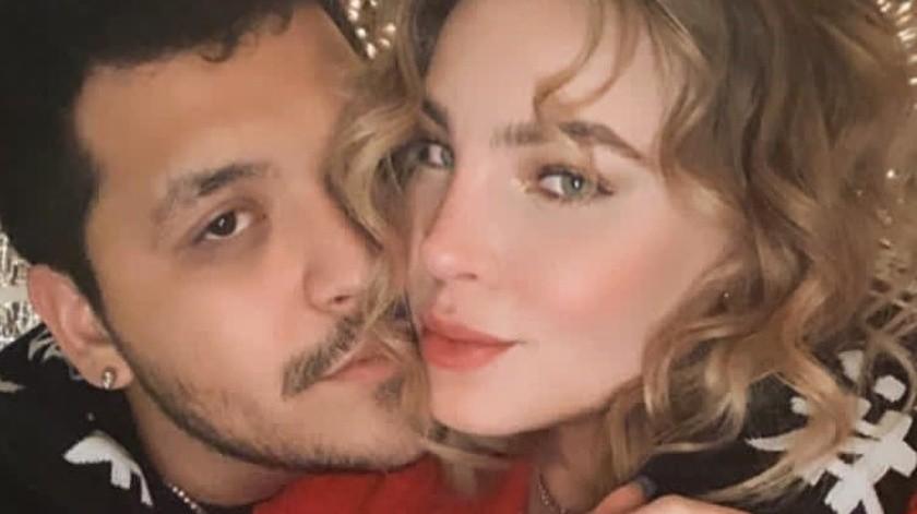 Belinda y Christian Nodal se miraban muy contentos y tienen planes de boda, según declaró Nodal a un medio.(Instagram/nodal)