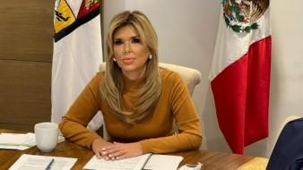 Claudia Pavlovich Arellano, gobernadora del estado