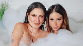 Las mujeres aparecerán en un video erótico que se transmitiría por Playboy TV, según publicó Celia en su red social.