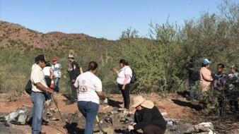 Las Guerreras Buscadoras de Sonora ocupan en apoyo de los guaymenses