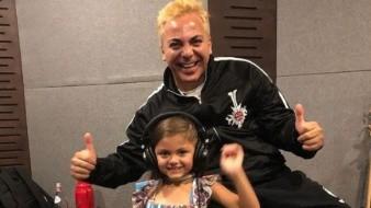 Conmueve hasta las lágrimas a Cristian Castro el talento de su hija Rafaella