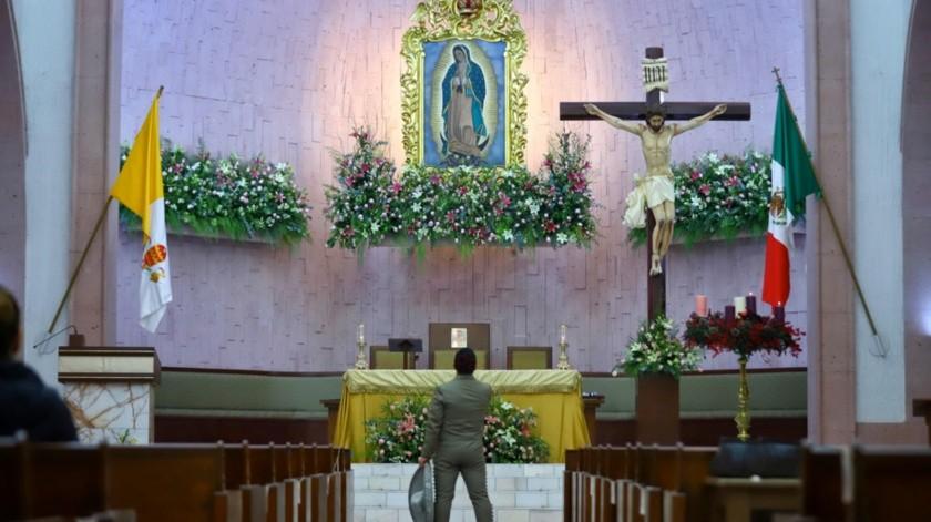 A diferencia de años anteriores, no hubo tumultos en Las Mañanitas a la Virgen.(Daniel Reséndiz)