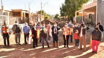 Avanza pavimentación en Hermosillo con 5 calles del norte: Célida López