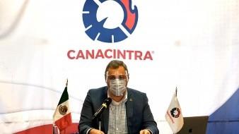 Enoch Castellanos, presidente de Canacintra