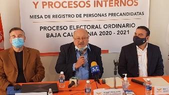 Se registra Alejandro Mungaray como precandidato por Movimiento Ciudadano