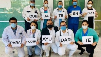 Refuerzan médicos de otros estados combate al Covid