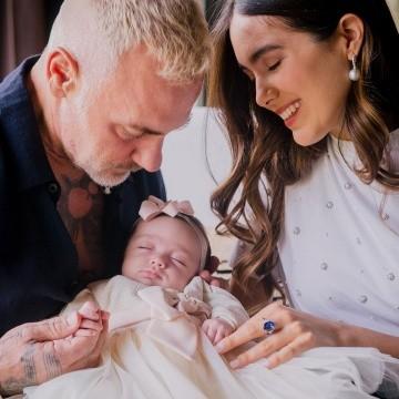 Presentan Gianluca Vacchi y Sharon Fonseca a su hija Blu | EL IMPARCIAL |  Noticias de México y el mundo