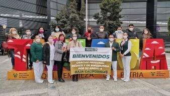 Llega a Tijuana personal médico de Jalisco y Nuevo León para atender pacientes Covid