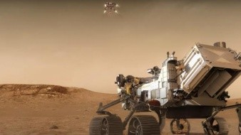 Muestran simulación de aterrizaje del róver de la NASA en Marte