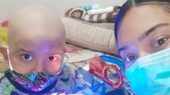 Le roban cartera tras llevar a su hijo a quimioterapia