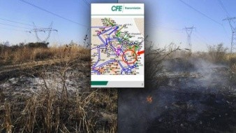 La CFE mostró evidencias del incendio que causó apagón en México