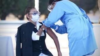 Una enfermera presentó una reacción fuerte tras la aplicación de la vacuna anti-Covid