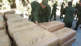 Reportan récord de decomisos de drogas en México