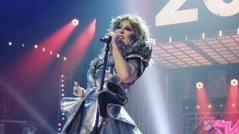 Alejandra Guzmán fue criticada por el aspecto de su rostro en el especial de Año Nuevo de Tv Azteca.