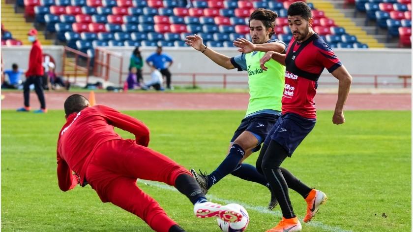 Cimarrones enfrentó a su filial de Segunda División.(Cortesía)