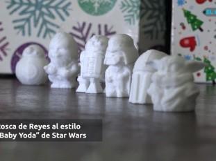 Con la intención de ofrecer algo distinto y llamativo para el día de los reyes magos, la joven Silvia Arámbula decidió fabricar muñecos de Star Wars para ser usados en la rosca de reyes.