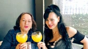 Tras vencer el Covid-19, Maribel Guardia se reencuentra con su mamá en Costa Rica