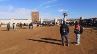 Trabajadores agrícolas de San Quintín realizan huelga por falta de pago