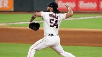 Roberto Osuna fue colocado en waivers por Astros de Houston un año después de haber ganado el título de salvamentos de la Liga Americana.