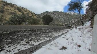 Se esperan temperaturas de hasta -15 grados Celsius en sierra sonorense.