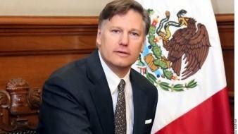 Embajador de EU Christopher Landau anuncia fin de su gestión en México