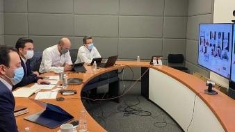 Se realizó la primera reunión semanal 2021 entre autoridades del IMSS y madres y padres de niñas y niños con cáncer.
