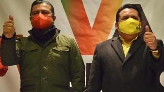 Los dirigentes del PRI y PRD en Veracruz acusaron al líder panista Joaquín Guzmán Avilés del rompimiento de negociaciones en coalición