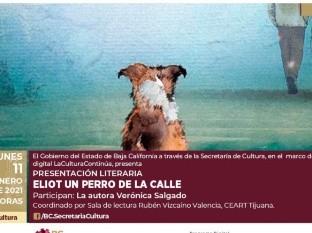 """Presentarán """"Eliot, un perro de la calle"""", de Verónica Salgado"""