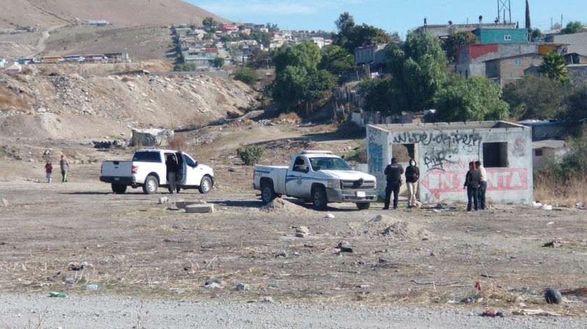Hallan cadáver en un terreno baldío de la Zona Este(Margarito Martínez)