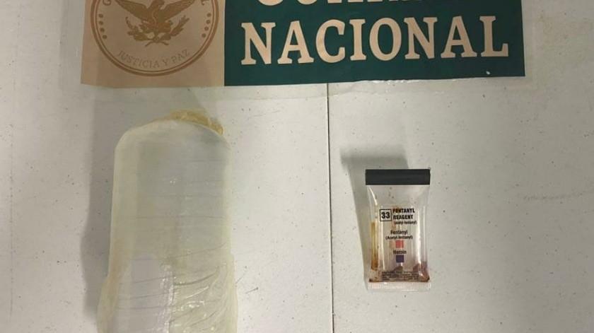 La droga tiene un peso aproximado de 486 gramos.(Cortesía)