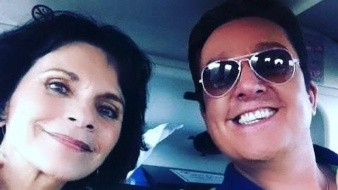 Daniel Bisogno compartió una foto con Pati Chapoy por el aniversario de