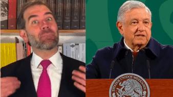 El titular del INE, Lorenzo Córdova y el presidente de México, Andrés Manuel López Obrador, emitieron posturas sobre la transmisión de las conferencias matutinas.