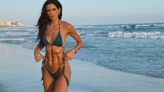 Bárbara de Regil hace ejercicio hasta en el supermercado