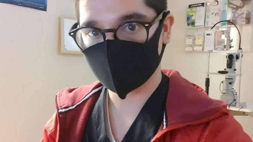 """""""Me siento más seguro"""": Enfermero cachanilla tras vacuna anti-Covid(Cortesía)"""