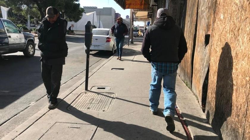 Alertan a la ciudadanía de Nogales por el frente frío número 26 que traerá bajas temperaturas.(Manuel Jimenez)