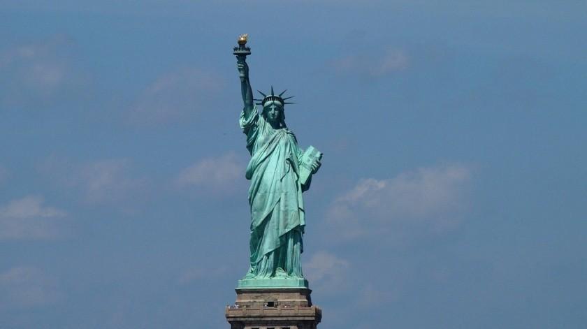 """Estatua de la Libertad """"se está poniendo verde de coraje"""", dice AMLO por censura a Trump(Pixabay-Ilustrativa.)"""