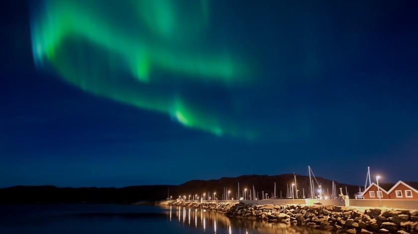 Lectores de la BBC enviaron sus espectaculares imágenes de la aurora boreal, vista desde Escocia.(Ilustrativa/Pixabay)