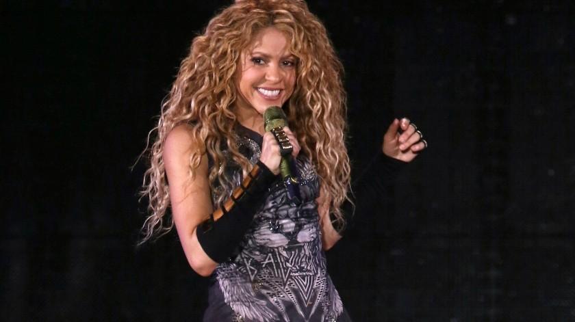 Shakira da un concierto en el Madison Square Garden en Nueva York.(AP)