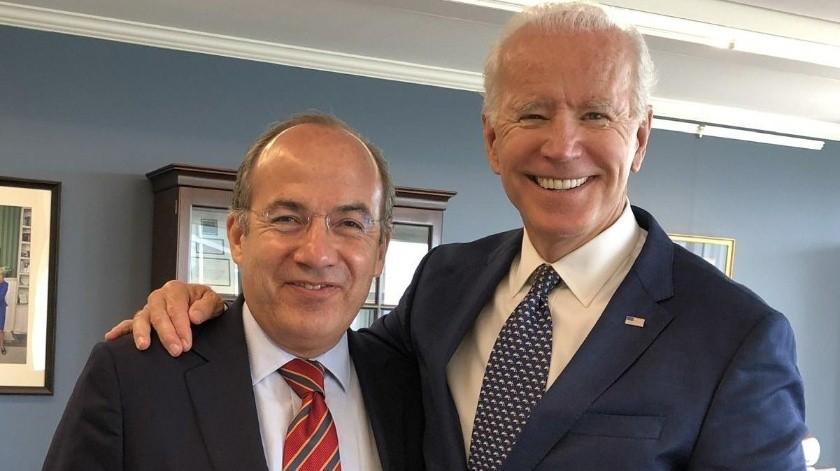 ¿Podría Felipe Calderón ser invitado a la investidura de Joe Biden?(Twitter/ @Felipe Calderón)