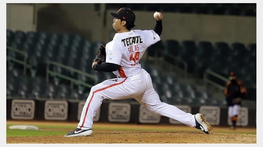 Fernando Salas no ha lanzado desde el segundo juego de la primera ronda.(Priscilla Mungarro)