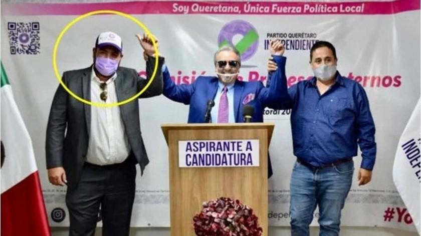 """También su """"tesoro"""": Hijo de """"Kiko"""" buscará diputación en Querétaro(El Universal)"""