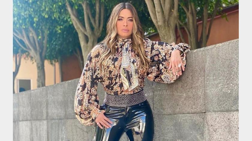 Galilea Montijo lució su abdomen marcado en redes sociales(Instagram)