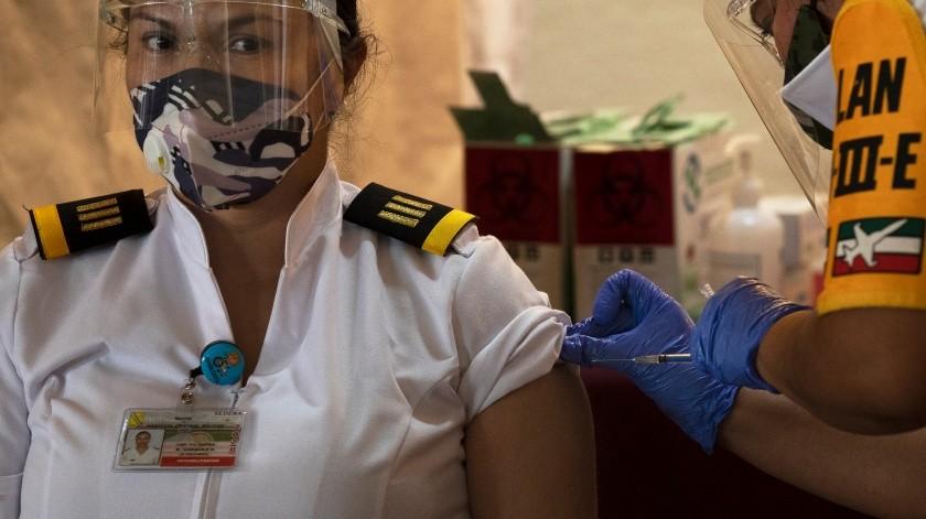 Coronavirus en México: 15 mil 873 nuevos casos y mil 235 muertes al corte de hoy(AP)