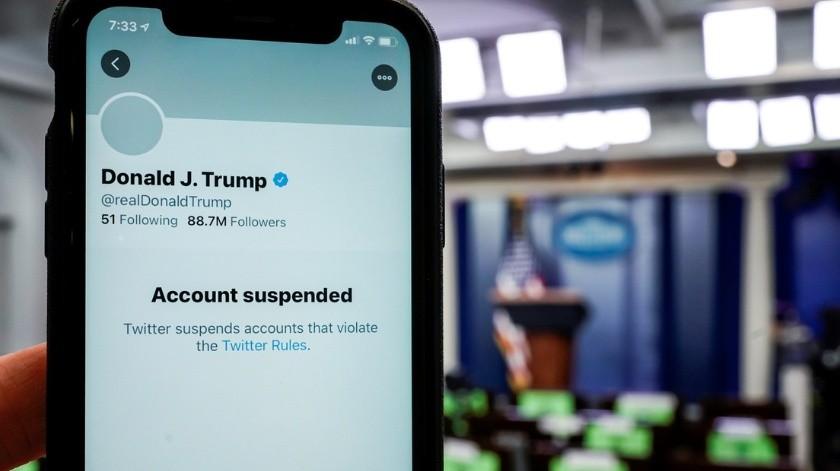 """Director ejecutivo de Twitter dice que bloquear a Trump fue """"una decisión correcta""""(Joshua Roberts / Reuters)"""