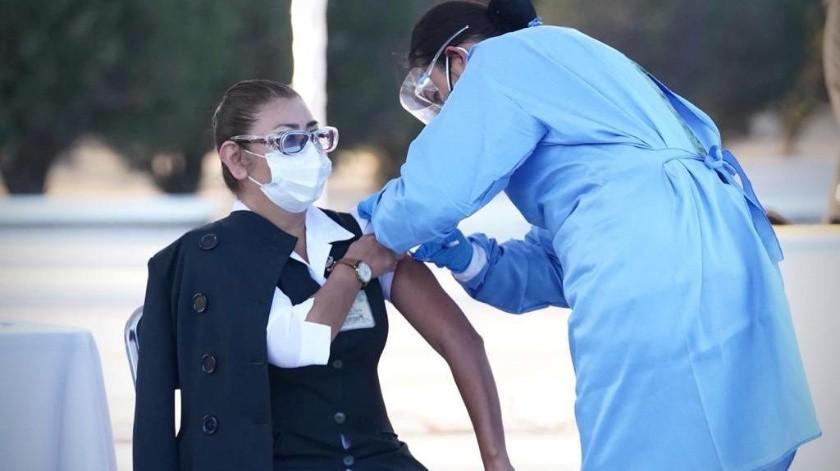 Médicos pierden su turno para vacunarse al atender en área Covid(GH)