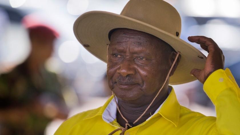 Yoweri Museveni ordenó bloquear las redes sociales en Uganda(Twitter)
