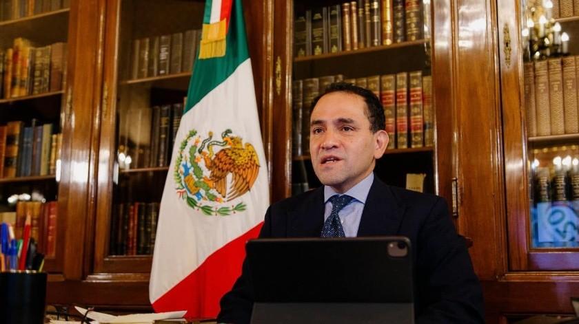 Arturo Herrera, secretario deHacienda y Crédito Público(FB oficial. Imagen archivo)