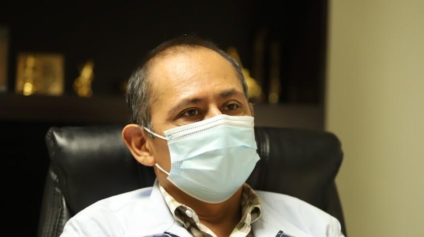 Jesús Sánchez Colín, médico infectólogo(Banco digital)