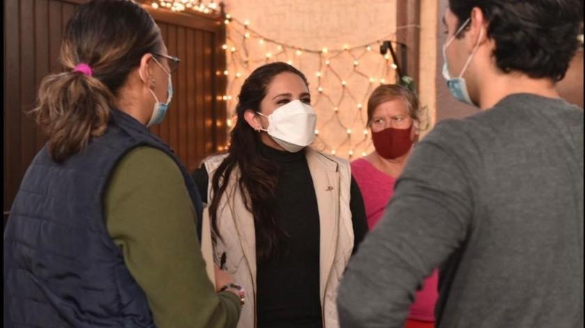 La alcaldesa Célida López refrendó que desde el Gobierno municipal continuará haciéndose el mayor esfuerzo para responder.(BANCO DIGITAL)