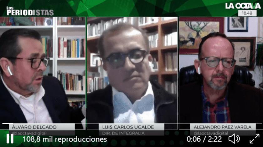 """Por su parte, el periodista Alejandro Paéz Varela comentó que la mayoría de los que se nombran en el documento fueron quienes financiaron la campaña de Felipe Caledrón, a lo queUgalde dijo """"no tener idea""""."""